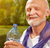 Сколько пить воды при хроническом простатите