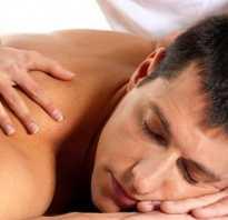 Точечный массаж повышение потенции