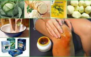 Боль в колене: лечение народными средствами, самые эффективные рецепты и компоненты, уникальные методики для снятия боли и очищения в домашних условиях