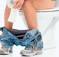 Как сходить в туалет после операции на геморрой
