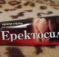 Крем Эректосил и инструкция крема Эрекстосил