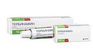 Тербинафин таблетки: инструкция по применению, описание, фармакодинамика и фармакокинетика, лекарственное взаимодействие, совместимость с алкоголем, цена и отзывы