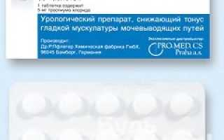 Спазмекс: показания и противопоказания для применения, побочные эффекты и механизм действия препарата, действующее вещество