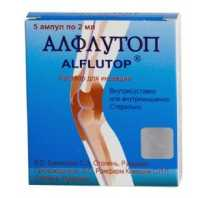 Уколы алфлутоп: от чего помогают, показания и противопоказания к применению, отзывы пациентов и врачей, описание препарата