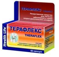 Терафлекс: инструкция по применению, форма выпуска и состав препарата, фармакологическое действие, показания, возможные побочные эффекты, цена и аналоги