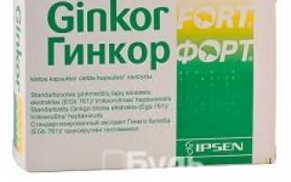 Гинкор форт: состав и форма выпуска препарата, показания и противопоказания к назначению, схема приема и рекомендуемая дозировка, стоимость и аналоги лекарства, отзывы пациентов