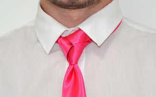Узел Тринити для галстука ? как завязать, пошаговая схема