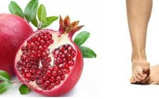 Употребление граната людьми, страдающими от подагры: можно ли есть фрукт при заболевании, в каких количествах, к чему приводит несоблюдение диеты